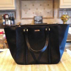 Kate Spade ♠️ Oversized Black Tote Bag